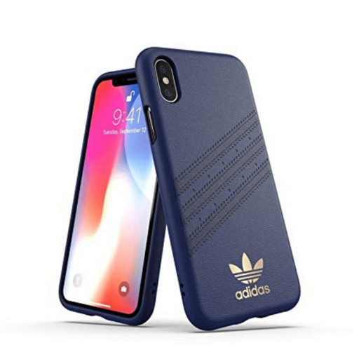 Adidas, iPhone X&XS, 3 Stripes case, Samba Blue
