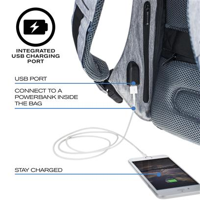 XDDESIGN - Bobby Compact Anti-Theft Backpack - Light Blue