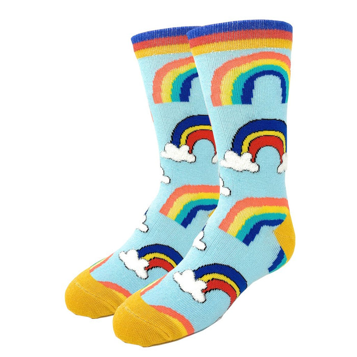 OoohYeah Socks - Youth Crew Socks Its A Rainbow