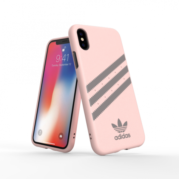 Adidas - iPhone X/XS 3 Stripes Case - Gazelle Pink