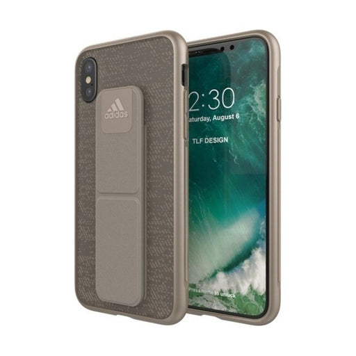 Adidas, iPhone X&XS Grip case, Sesame