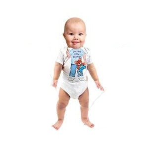 Just Add A Kid - Romper One-Piece Little Brother One - up to 12 Months
