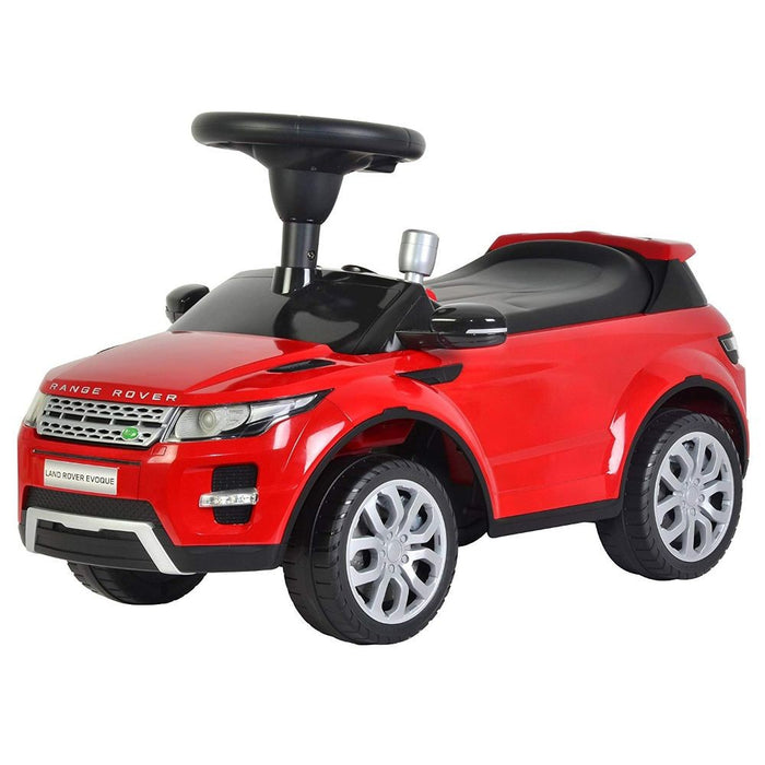 "Kids Preferred - Licensed to Ride-On Land Rover Range Rover Evoque 26"" with Sound - Red"