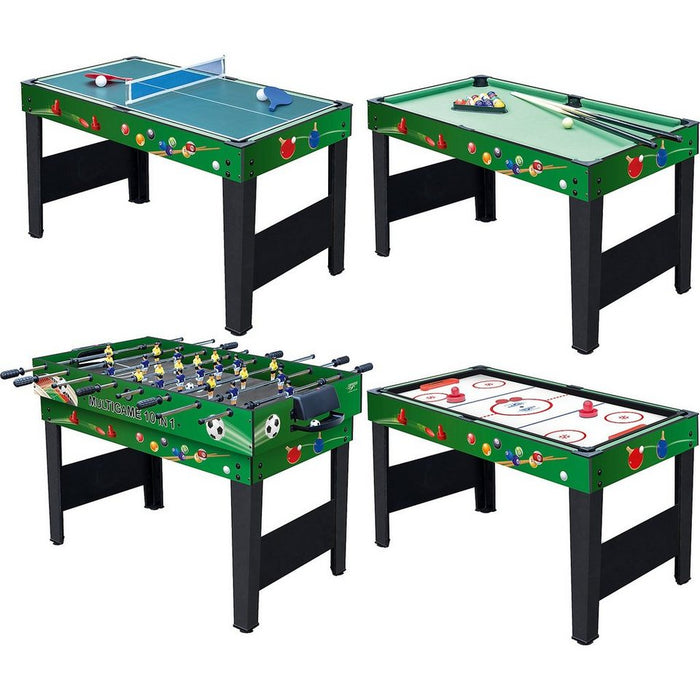 Carromco - Multigame Choice XT 10 in 1  123x61x80.5 CM