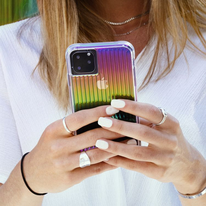 Case-Mate   - iPhone 11 Pro Case - Tough Groove - Iridescent