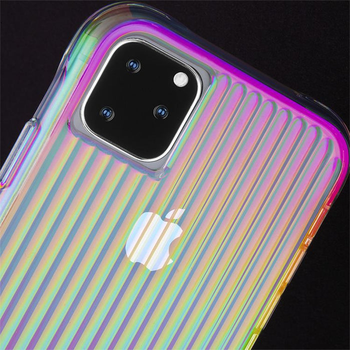 Case-Mate - iPhone 11 Pro Max Case - Tough Groove - Iridescent
