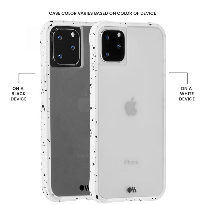 Case-Mate - iPhone 11 Pro Case - Tough Speckled - White