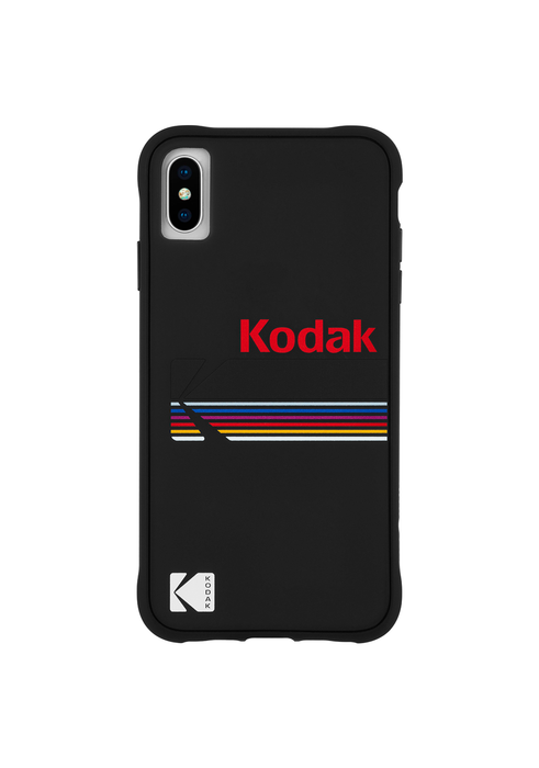 Case-Mate -  iPhone X/XS Kodak X - Matte Black