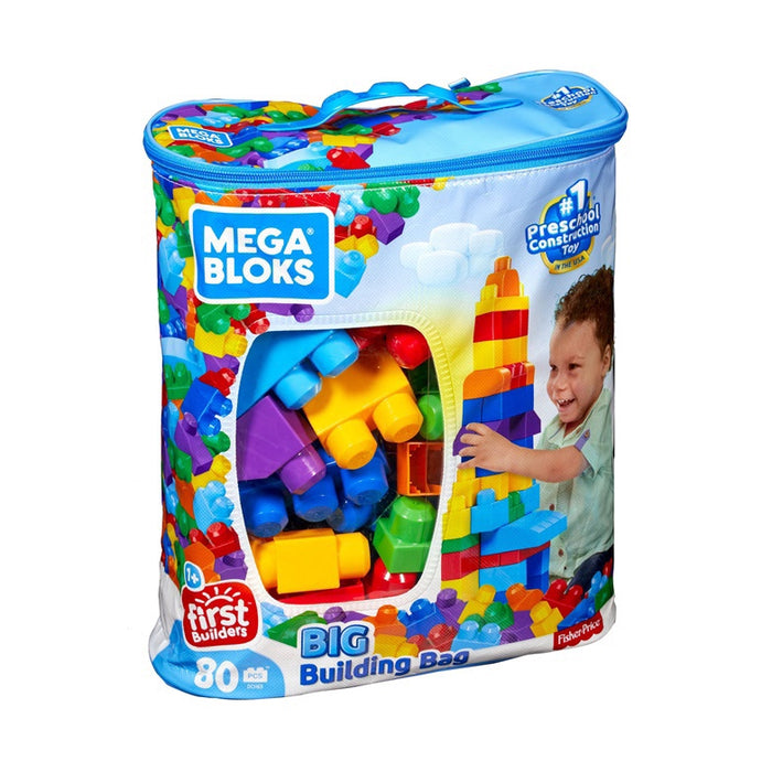 Mega Bloks   - Big Building Bag 80pcs