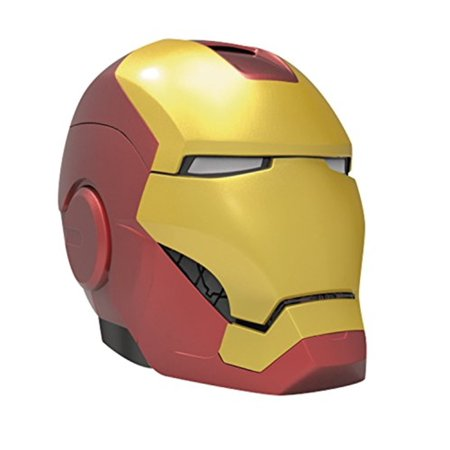 Ihome, Kiddesigns Bluetooth Helmet Speaker Marvel, Iron Man