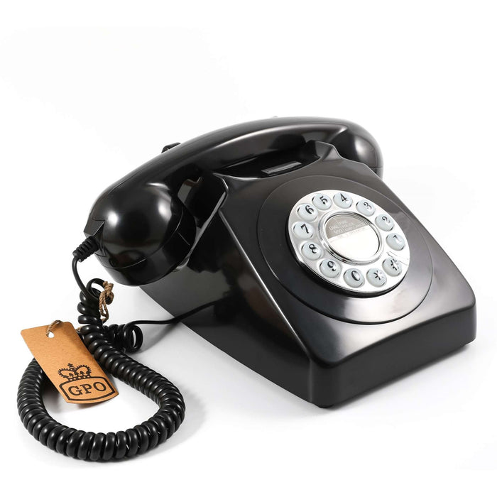Gpo 746 Push Button Authentic Bell Ring With Easy To Use Push-Button Dialling