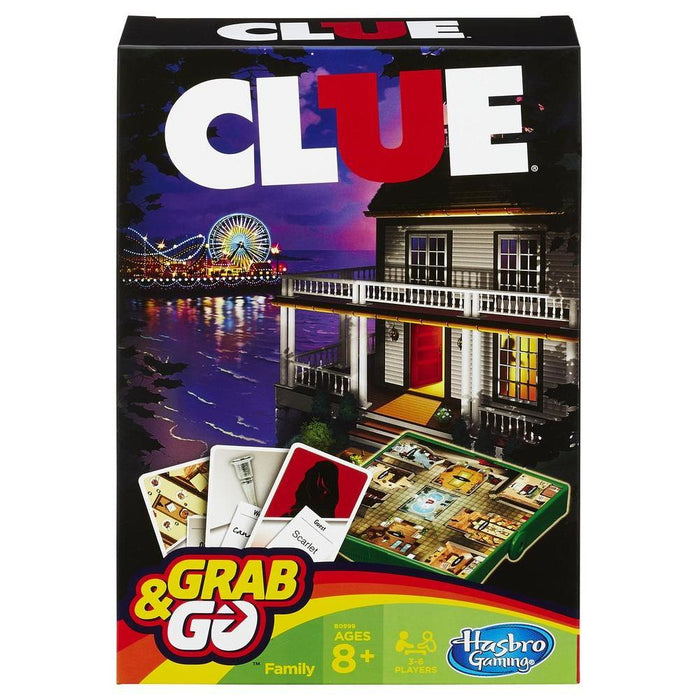 Hasbro Gaming   - Clue Grab and Go