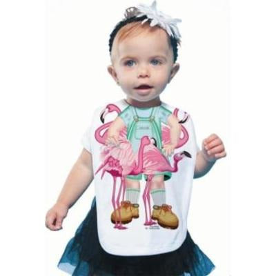 Just Add A Kid - Bib Flamingo Girl (2037388116025)
