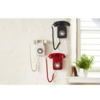 GPO Retro - GPO 746 Retro Wall Telephone - Black