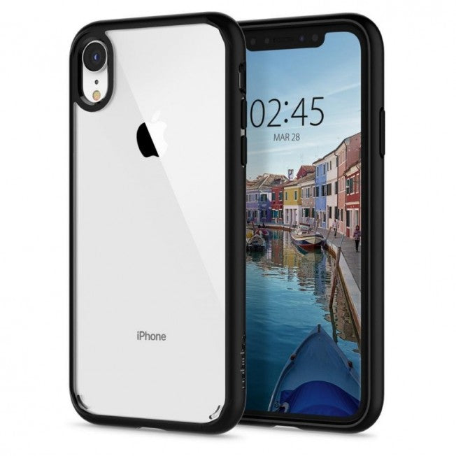 Spigen - iPhone XR  Case Ultra Hybrid - Matte Black