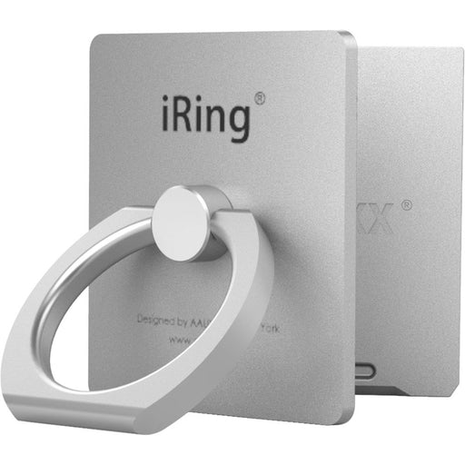 "Iring ""Link"" Wireless Chargers Compatible - Silver"