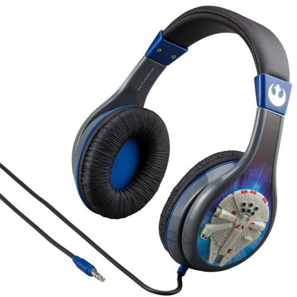 KIDdesigns - STARWARS Over-Ear Headphones with Built-in Microphone