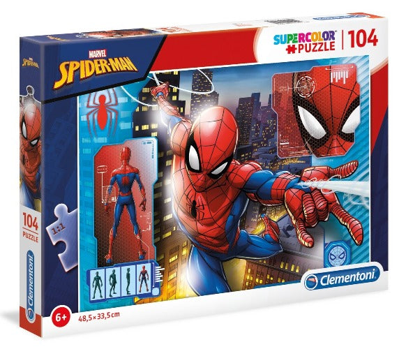 Clementoni  - Spiderman Puzzle 104pcs