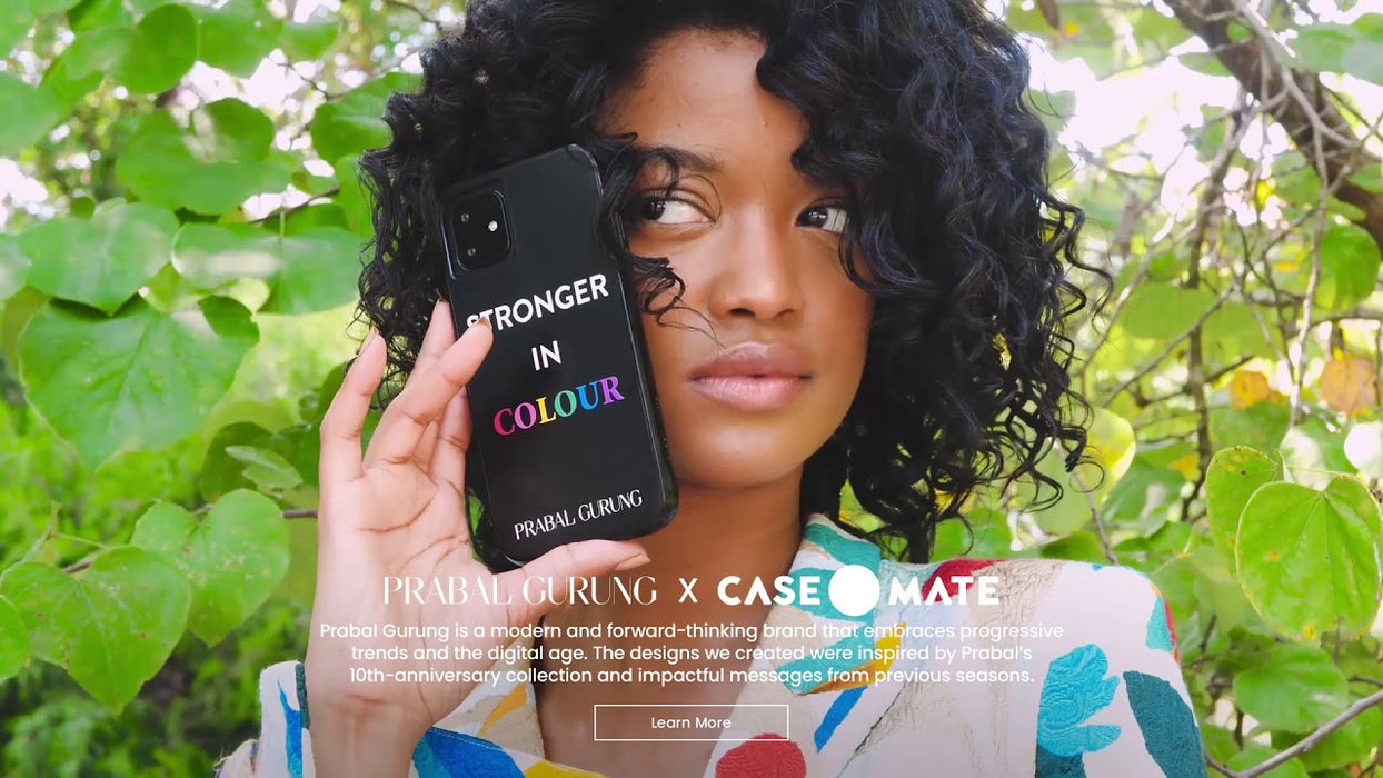 Case-Mate   - iPhone 11 Pro Case - PRABAL GURUNG - Tough Stronger in Colour - Smoke
