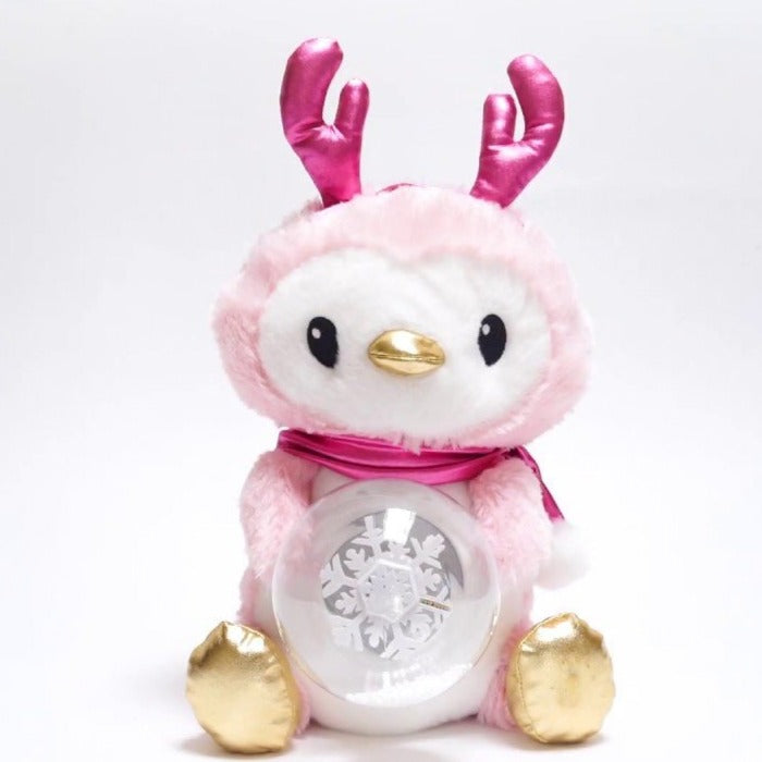 Cuddle Barn   - Musical Plush Snowglo Penguin