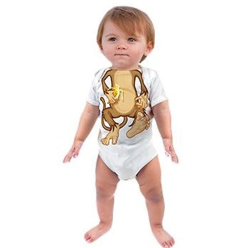 Just Add A Kid - Romper One-Piece Monkey Body - up to 12 Months
