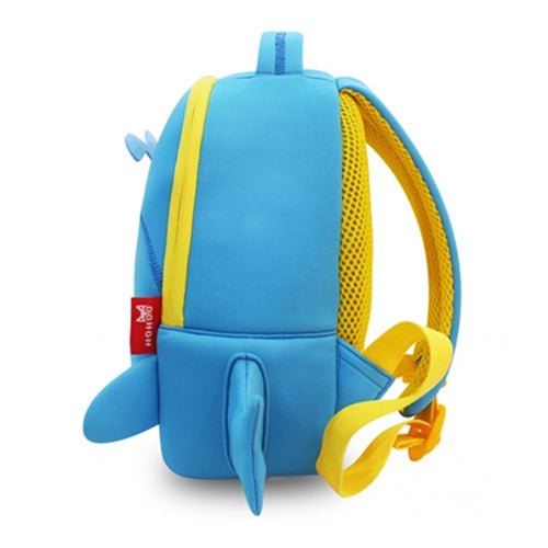 Nohoo - Angel 3D Water Resistance Kids Backpack - 2 to 6 Years - Blue