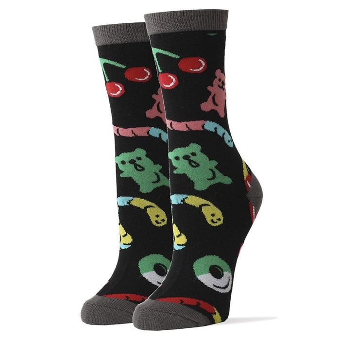 OoohYeah Socks - Womens Crew Gummies