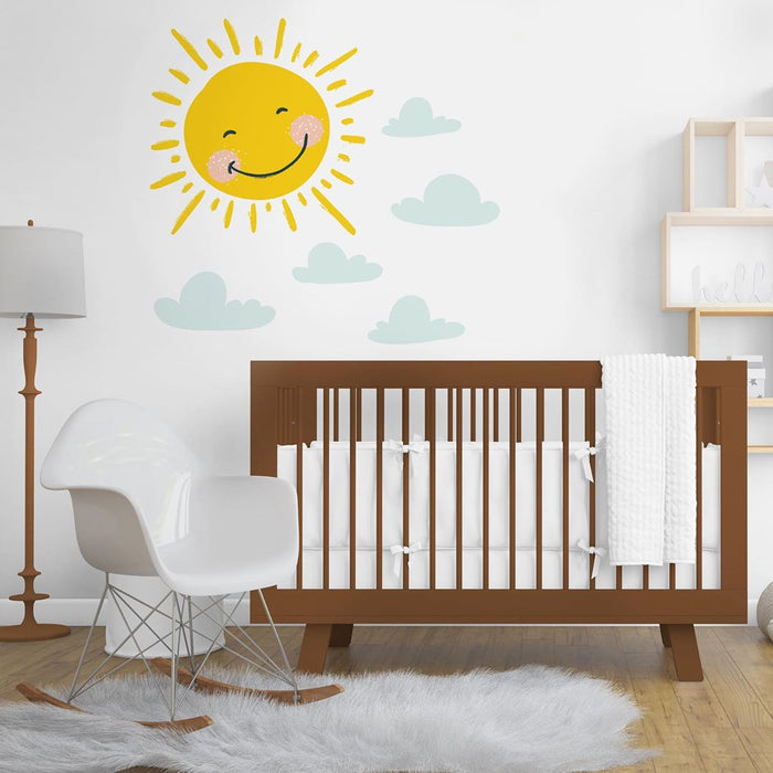 "Paper11   - Wall Decal ""Rise and Shine"""