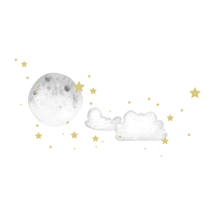 "Paper11   - Wall Decal ""Starry Night"""