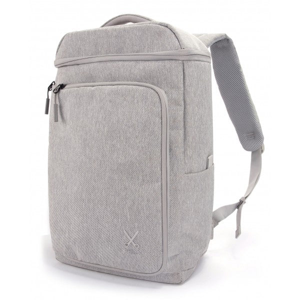 Philo - Smart Backpack Water Resistant with Smart Integrated USB Charging Port for Laptop up to 15 inch - Grey