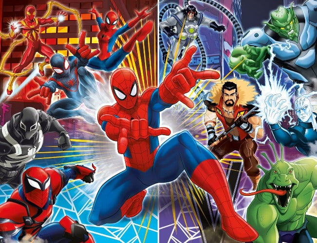 Clementoni  - Ultimate Spiderman And The Sinister Six Puzzle 60pcs