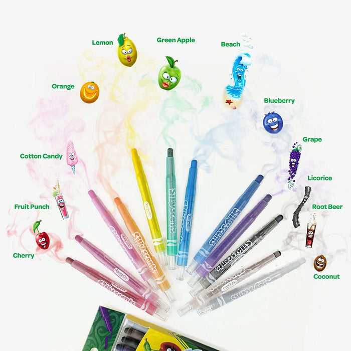 Crayola   - 21 Scented Mini Twistable Crayon (French)