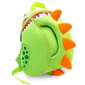 Nohoo - Dinosaur 3D Water Resistance Kids Backpack - 4 to 8 Years - Green