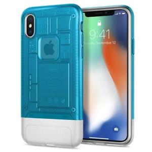 Spigen - iPhone X/XS Case Classic C1 - Blueberry