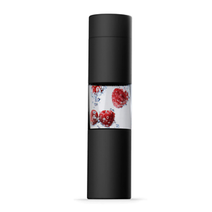 Asobu Flavour U see Water Bottle, Black