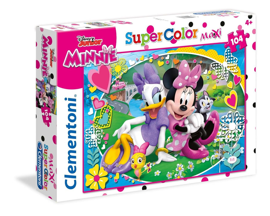 Clementoni   - Disney Minnie Happy Helpers Puzzle 104pcs