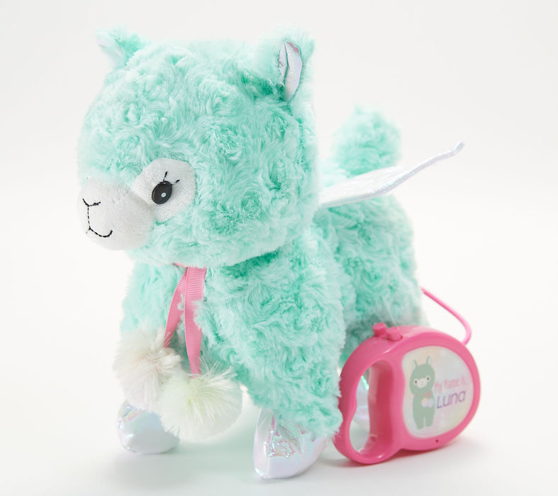Cuddle Barn   - Musical Plush Enchanted Pets Luna