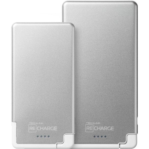 Recharge 5000 Pb Ultrathin With Usb - Silver/White