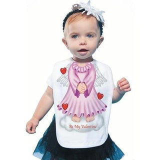 Just Add A Kid - Bib Angel Pink