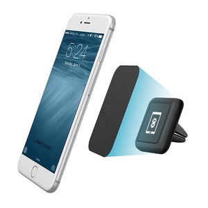 Square Mini Universal Magnetic Air Vent Phone Holder from Mega Mounts