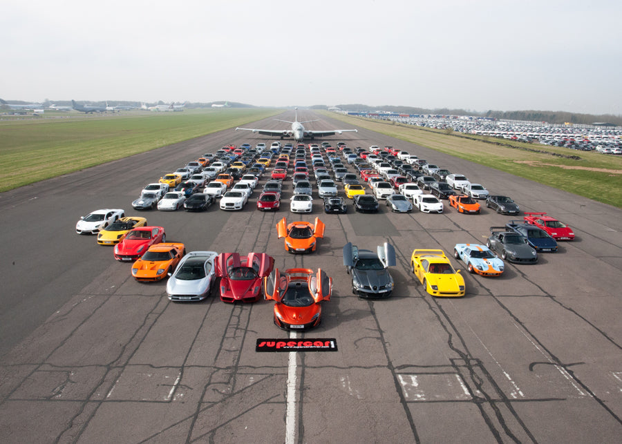 2014 Supercar Secret Meet Print