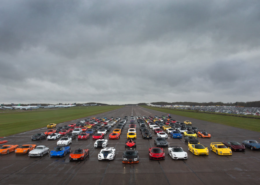 2015 Supercar Secret Meet Print