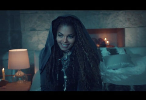 Janet Jackson wears Dax Savage Jewelry in No Sleep Video