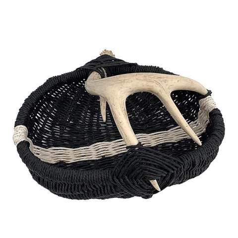 Custom Antler Basket A15 - medium/black/white