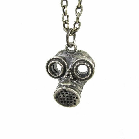 Gas Mask - silver