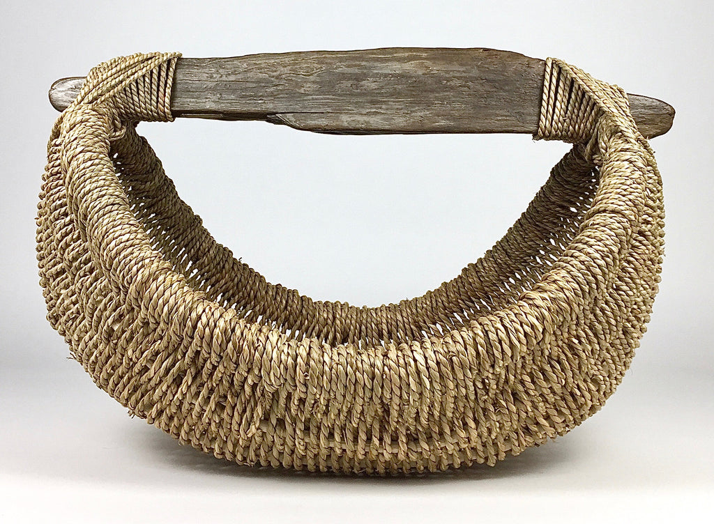 Custom Handmade Driftwood Basket by LA based Artist, Craftsman and Designer, Dax Savage.