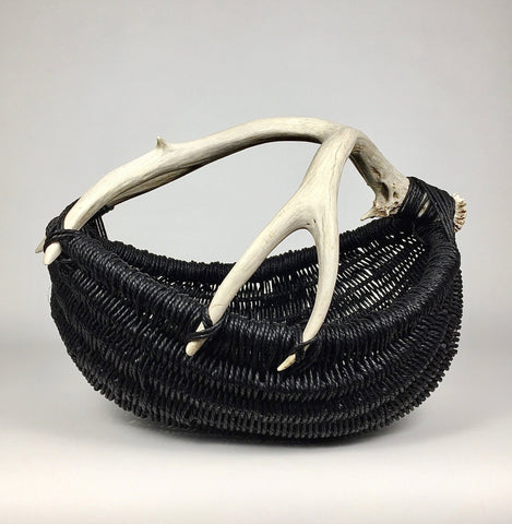 Custom Antler Basket A3 - black