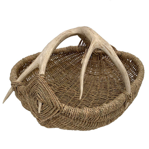 Custom Antler Basket A18 - Natural/XL