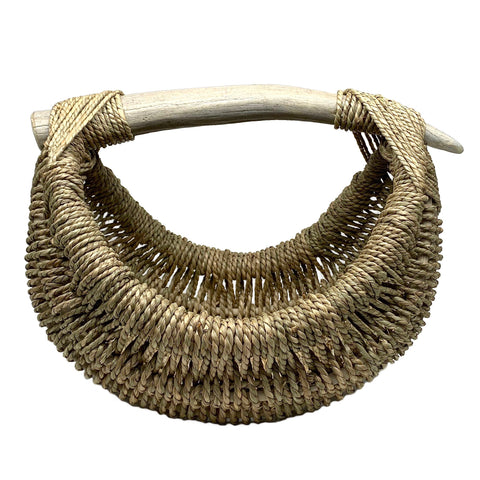 Custom Elk Antler Basket A4 - medium/natural