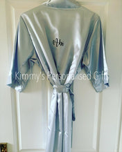 Load image into Gallery viewer, Silver Plain Style Robe